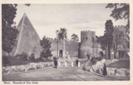 AL68 Roma, Piramide Di Caio Cestio - Other Monuments & Buildings