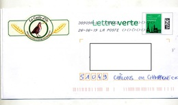 Pap Monument Paris Flamme Chiffree Sous Code Symbole Inegalité Illustré Specialite Gastronomique Caille D'or - Prêts-à-poster:  Autres (1995-...)