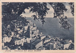 SALERNO AMALFI PANORAMA DAL BOSCO LUCIBELLI VIAGGIATA - Salerno