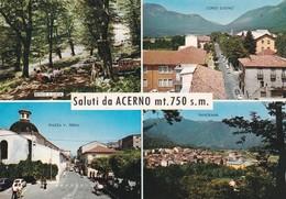 SALERNO ACERNO SALUTI DA.... VEDUTE VIAGGIATA - Salerno