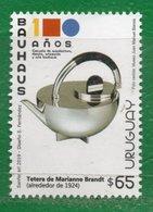 """1683 URUGUAY 2019- """"100 Años De La Bauhaus""""TT: Aniversarios,Diseños 1 Sello - Uruguay"""