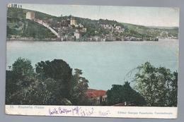 TR.- ROUMELIE HISSAR. Editeur Georges Papantoine, Constantinople. - Turkije