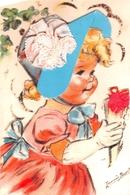 """¤¤   -  Illustrateur """" Germaine BOURET """" - Carte Moderne Retirée  -  Petite Fille   -  ¤¤ - Bouret, Germaine"""