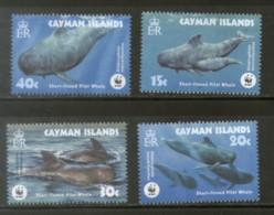 Cayman Islands 2003 WWF Short-finned Pilot Whale Fish MarineLife Sc 902 MNH 332 - W.W.F.