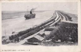 AM42 Port Said, Le Canal - Steam Ship - Port Said