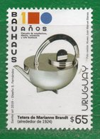 """1683b URUGUAY 2019-En CXX-Cuadro € 13.00   """"100 Años De La Bauhaus""""TT: Aniversarios,Diseños - Uruguay"""