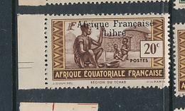 FRANCE AEF MAURY 142 MNH - Nuevos