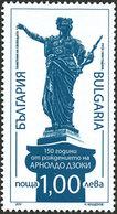 BULGARIE 150ans Arnoldo Dzoki 1v 12 Neuf ** MNH - Nuovi