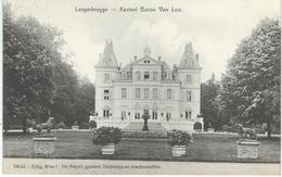 LANGERBRUGGE Kasteel Baron Van Loo - Cachet De La Poste 1909 - Gent