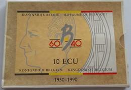 10 Ecu, Koninkrijk België, Boudewijn, 1930-1990, Goud-zilver - 1951-1993: Baudouin I