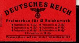 Markenheftchen 48.3 Adolf Hitler ** Postfrisch MNH Neuf (1) - Markenheftchen