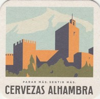 UNUSED BEERMAT - ALHAMBRA CERVEZAS  (SPAIN) - Beer Mats