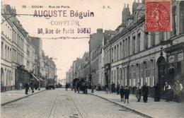 DOUAI  RUE DE PARIS - Douai