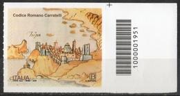Italia Rep. 2019 - Codice Romano Carratelli Codice A Barre MNH ** - 6. 1946-.. República