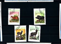 6425b)  Vietnam 1973 Animali Fauna, Set Di 4,  -SERIE  -USATA - Vietnam