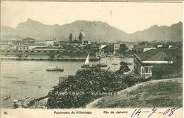 RIO De JANEIRO - PANORAMA De ALFANDEGA - - Rio De Janeiro