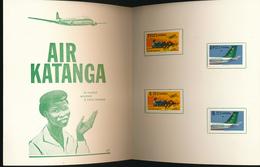 KATANGA COB 75/78 IMPERFORATED STUCK ON A FOLDER - Katanga