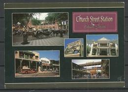 USA Post Card Orlando FLORIDA Church Street Staton Sent 2000 From Germany With Stamp - Orlando