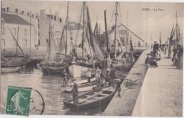 Bv - Cpa ETEL è Le Port - Etel