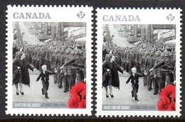 CANADA 3081/82 WWI , Coquelicot , Never Forget , Musique - 1. Weltkrieg