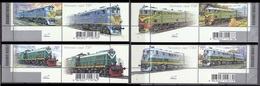 2007Ukraine878-881+TabLocomotives5,00 € - Treni