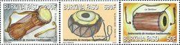 BURKINA FASO Instruments De Musique Traditionnelle 3v 2013 Neuf ** MNH - Burkina Faso (1984-...)