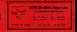 Markenheftchen 47 Winterhilfswerk Bauwerke  MNH ** Postfrisch Neuf (1) - Markenheftchen