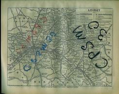 ANNUAIRE - 45 - Département Loiret - Année 1940 - édition Didot-Bottin - 102 Pages - Telefonbücher