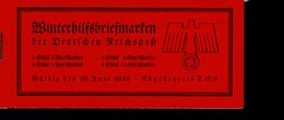 Markenheftchen 44 Winterhilfswerk Schiffe  MNH ** Postfrisch Neuf - Markenheftchen