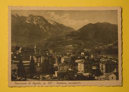 Cartolina Panorama Di Agordo 1940 - Belluno