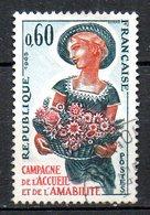 FRANCE. N°1449 Oblitéré De 1965. Campagne De L'accueil Et De L'amabilité. - France