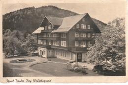 Schlesien, Hotel Tiroler Hof, Wölfsfeldgrund  1942 - Schlesien