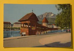 Cartolina Kapellbrucke In Luzern 1960 - Cartoline