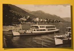 Cartolina Locarno Il Debarcadero 1960 - Cartoline