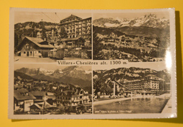Cartolina Villars Chesières 1958 - Cartoline