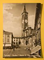 Cartolina Treviglio Basilica Piazza L. Manara 1965 - Bergamo
