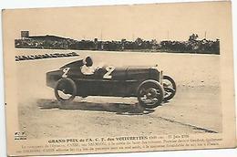 GRAND PRIX DE L ' A. C. F. DES VOITURETTES 1100CMC. 27 JUIN 1926 : CASSE LE VAINQUEUR - Sport Automobile