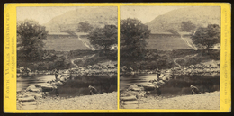 Stereoview Bettwys-Y-Coed, NORTH WALES Illustrated - Francis Bedford - Visionneuses Stéréoscopiques