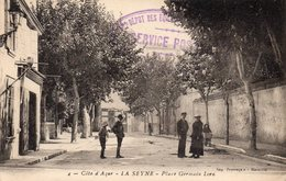 83 LA SEYNE SUR MER PLACE GERMAIN LORO ANIMEE - La Seyne-sur-Mer