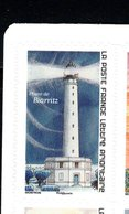France 2019.Issu Du Carnet Phares Repères De Nos Côtes.Le Phare De Biarritz.** - Commémoratifs