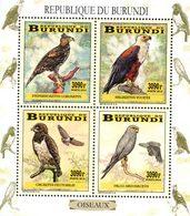 BURUNDI Oiseaux - Rapaces 4v  Neuf ** MNH - 2010-..: Nuovi