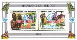 BURUNDI ONG-OMS Virus Ebola 2v 1180F  Neuf ** MNH - 2010-..: Ungebraucht
