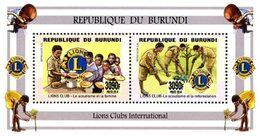BURUNDI ONG-Lions Club Intern. 2v  Neuf ** MNH - 2010-..: Ongebruikt