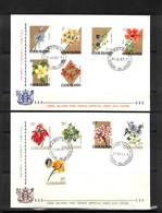 Cook Islands 1967 Flowers FDC - Pflanzen Und Botanik