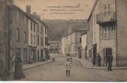 63 PONTGIBAUD  La Grande Rue Et L'Hôtel Du Commerce - France
