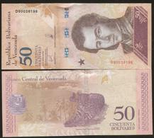 Venezuela 50 Bolivares 2018 Pick 105 UNC - Venezuela