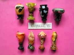 RARE Et Belle Série Complète De 8 Fèves PERSO - ECOLE DE NANCY II - 2006 ( Feve Vase Figurine Miniature ) - Fèves