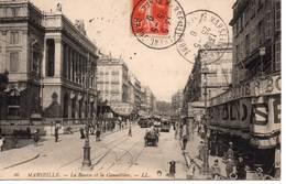 MARSEILLE - La Bourse Et La Cannebière - The Canebière, City Centre