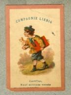 Chromo Liebig S 9 S9 Artiste Artist Buste Dupuy 1872 Rare Victorian Trade Card - Liebig