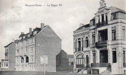 Nieuport-bains  La Digue XV  Circulé En 1908 - Nieuwpoort